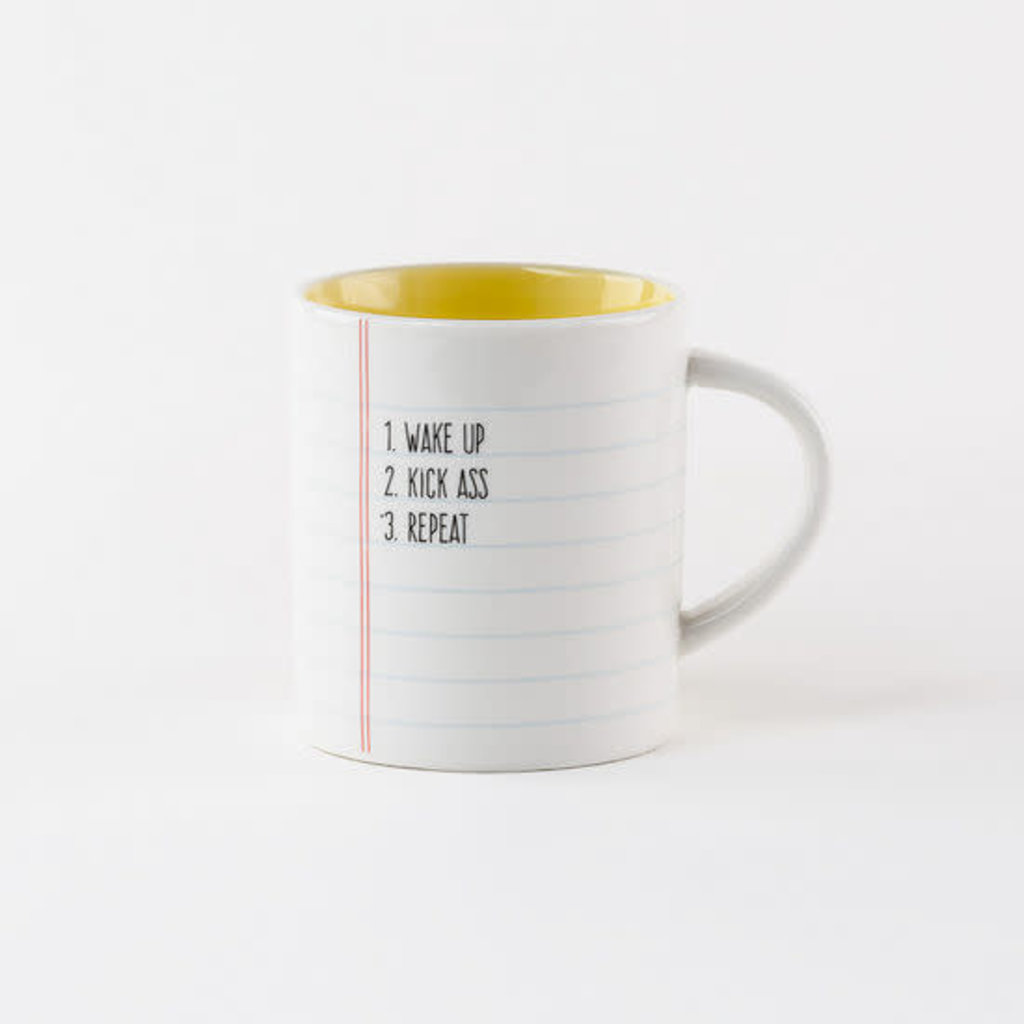 College Ruled Paper LIST Mug