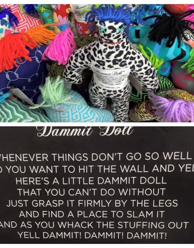 Dammit Doll - Assorted Fabric