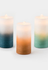 Water Wick LED Pillare Candle Fountain