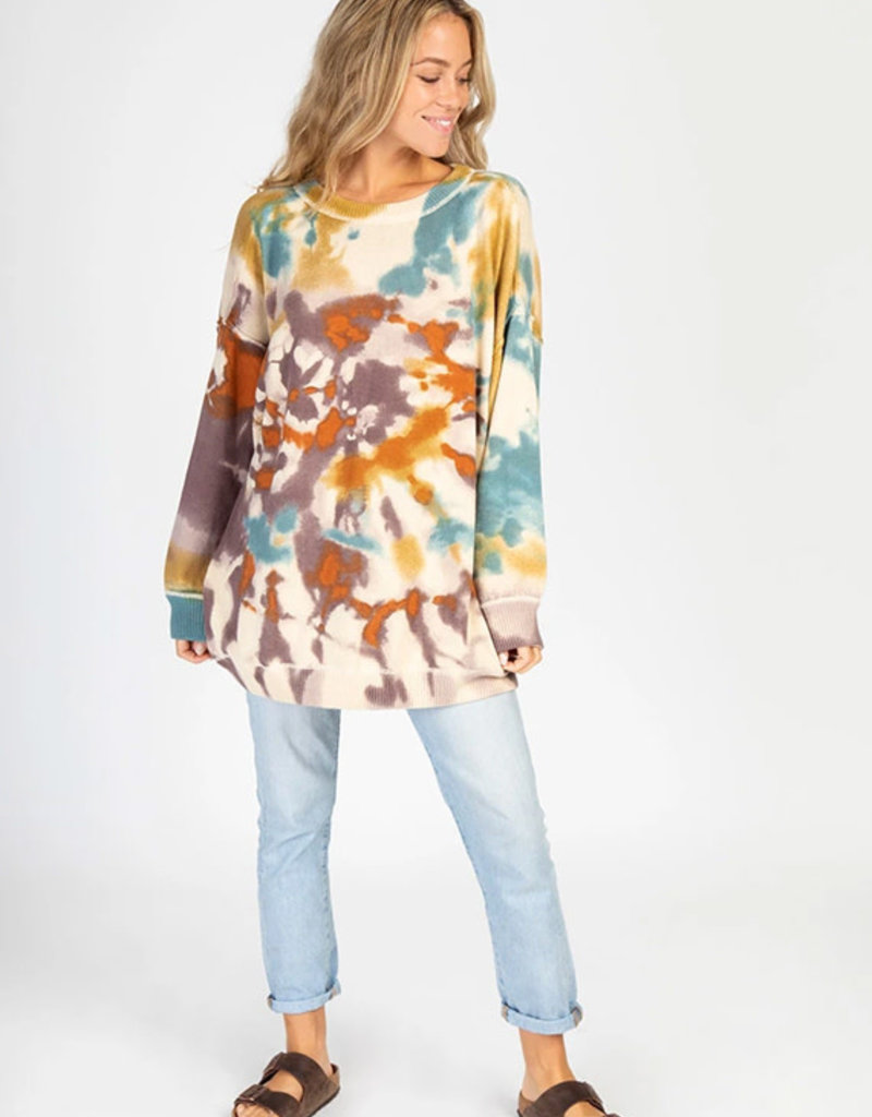 Natural Life Tie Dye Sweater