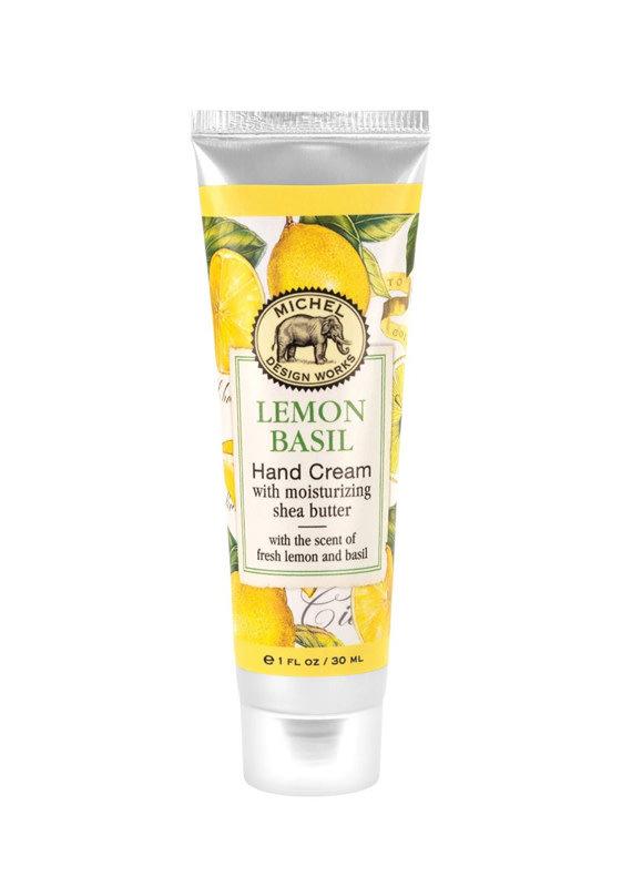 Michel Design Works Lemon Basil Hand Cream