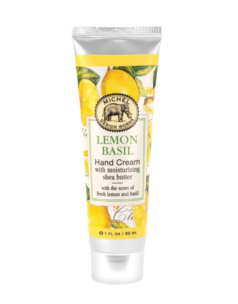 Michel Design Works Lemon Basil Hand Cream