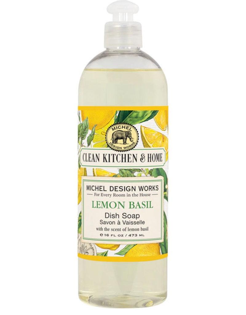 Michel Design Works Lemon Basil Dish Soap