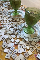 The Studio @ Linnea's Scrabble Art