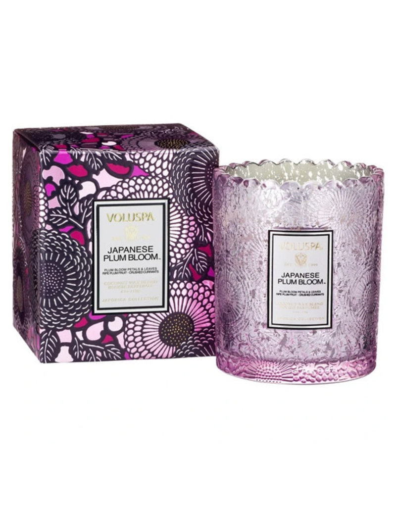 VOLUSPA Japanese Plum Bloom Candle - Assorted Sizes