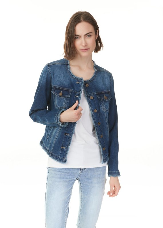 Charlie B Stretch Destructed Jacket