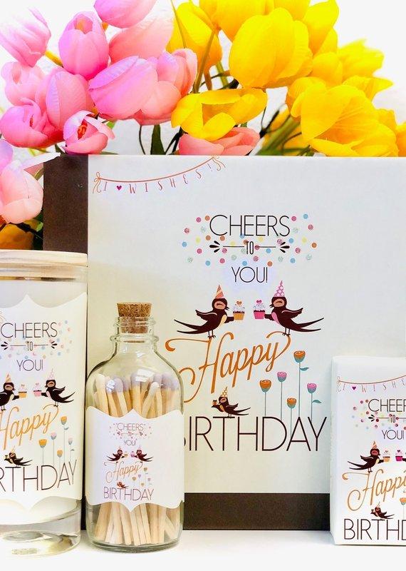 Luck & Love Beautiful Gift Box - Happy Birthday