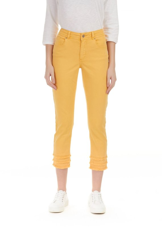 Charlie B Colored Twill Jean - Marigold