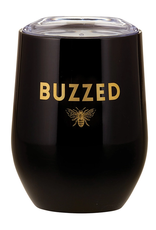 Buzzed Stainless Steel Stemless Wine Tumbler