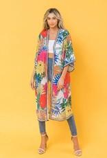 Free Market by Flying Tomatos Beautiful Kimono