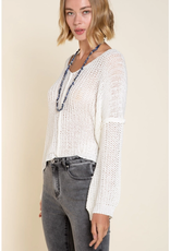 POL Clothing Light Weight Knit Sweater
