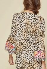 Savanna Jane Embroidered Bell Sleeve Tunic