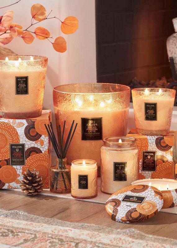 VOLUSPA Spiced Pumpkin Latte Candle - Assorted Sizes