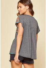 Savanna Jane Embroidered T-Shirt