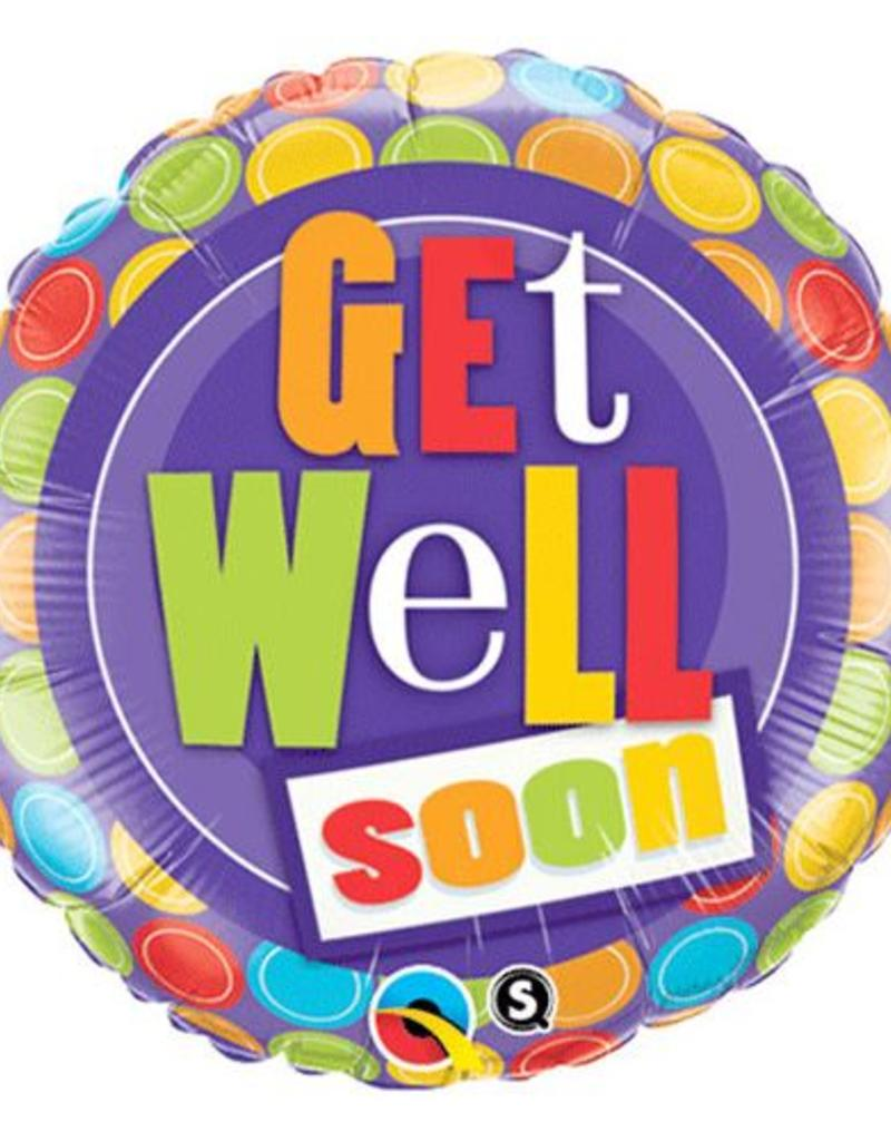 Get Well Mylar Balloon