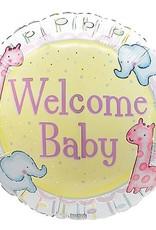 Welcome Baby Mylar Balloon