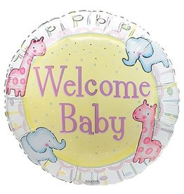 Welcome Baby Mylar Balloon