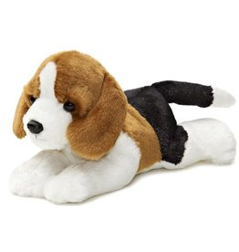 Aurora Mini Flopsies Homer Beagle - 8""