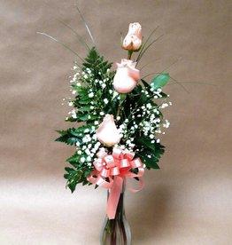 Three Rose Bouquet