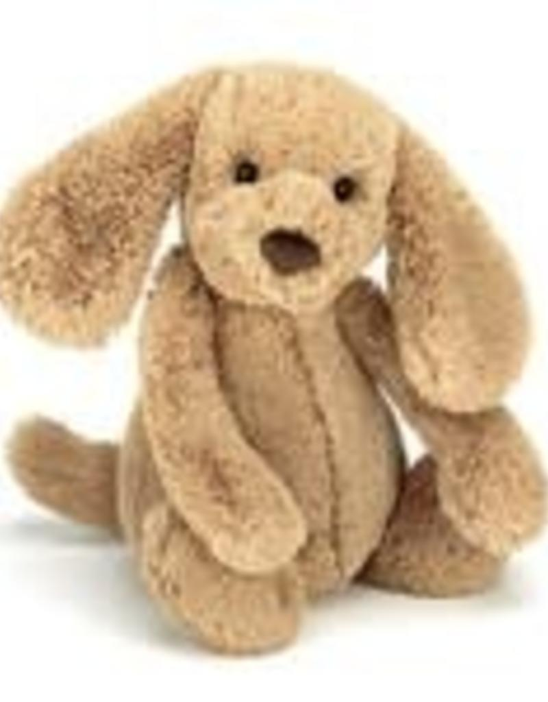 "Jellycat Bashful Toffee Puppy - 12"" MEDIUM"