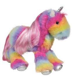 Douglas Stumbles Unicorn Rainbow Fuzzle