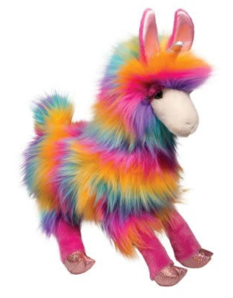 Douglas Lollipop Llamacorn Rainbow Fuzzle