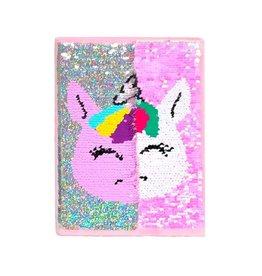 Unicorn Reversible Sequin Journal