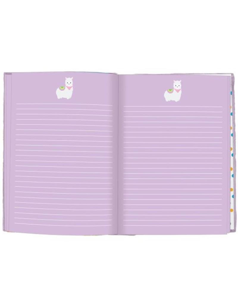 Llama Reversible Sequin Journal