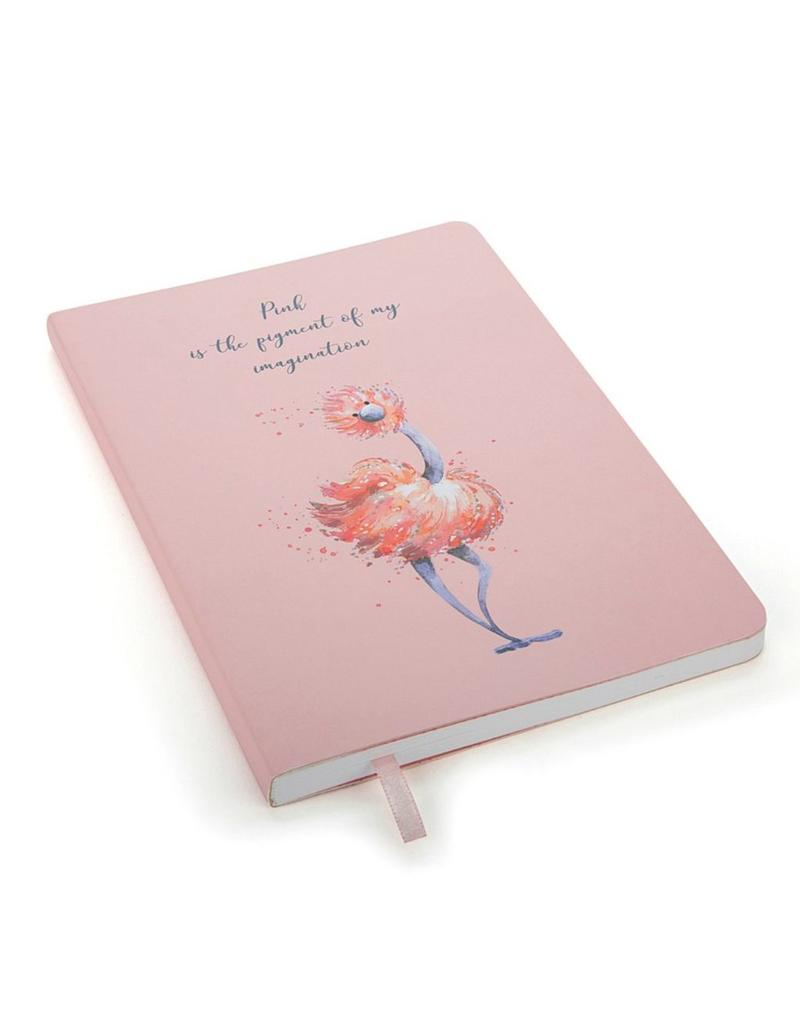Glad To Be Me Pink Lined Journal