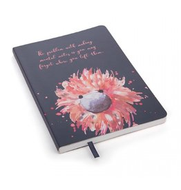 Glad To Be Me Navy Lined Journal
