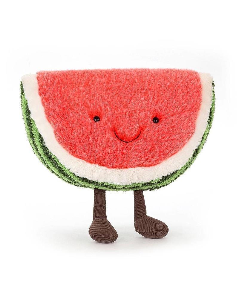 Amuseables Watermelon Zip Bag