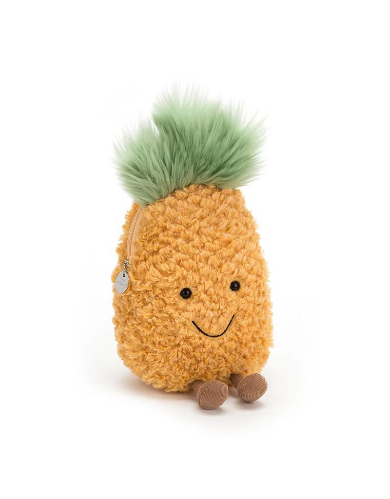 Amuseables Pineapple Zip Bag