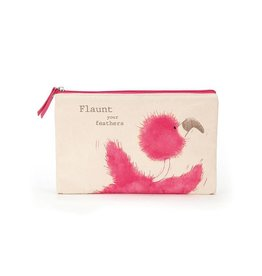 Flaunt Your Feathers Large Pouch