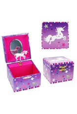 Magical moments  small music box  lilac