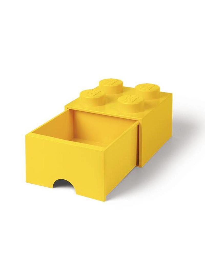 Storage Drawer 4 Yellow