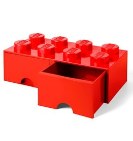 Storage Drawer 8 Red