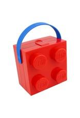 Brick Lunchbox w/ Handle Red