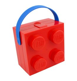Brick Lunchbox w/ Handle Red