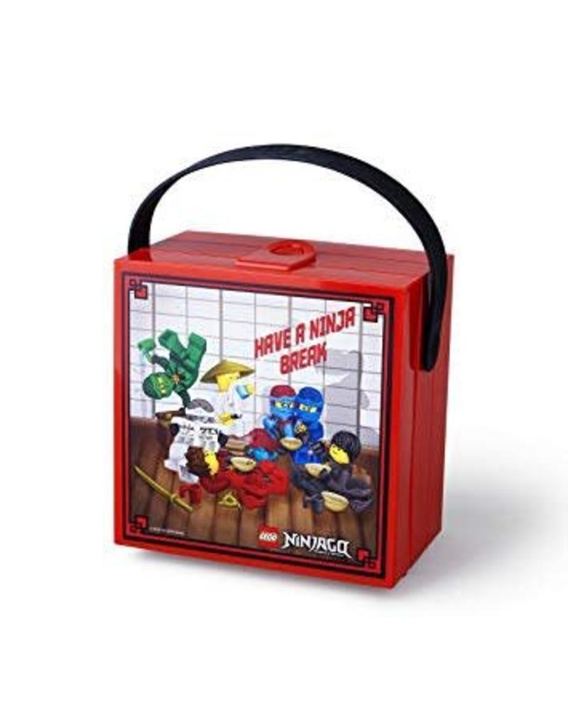 Theme Lunchbox Ninjago (red)