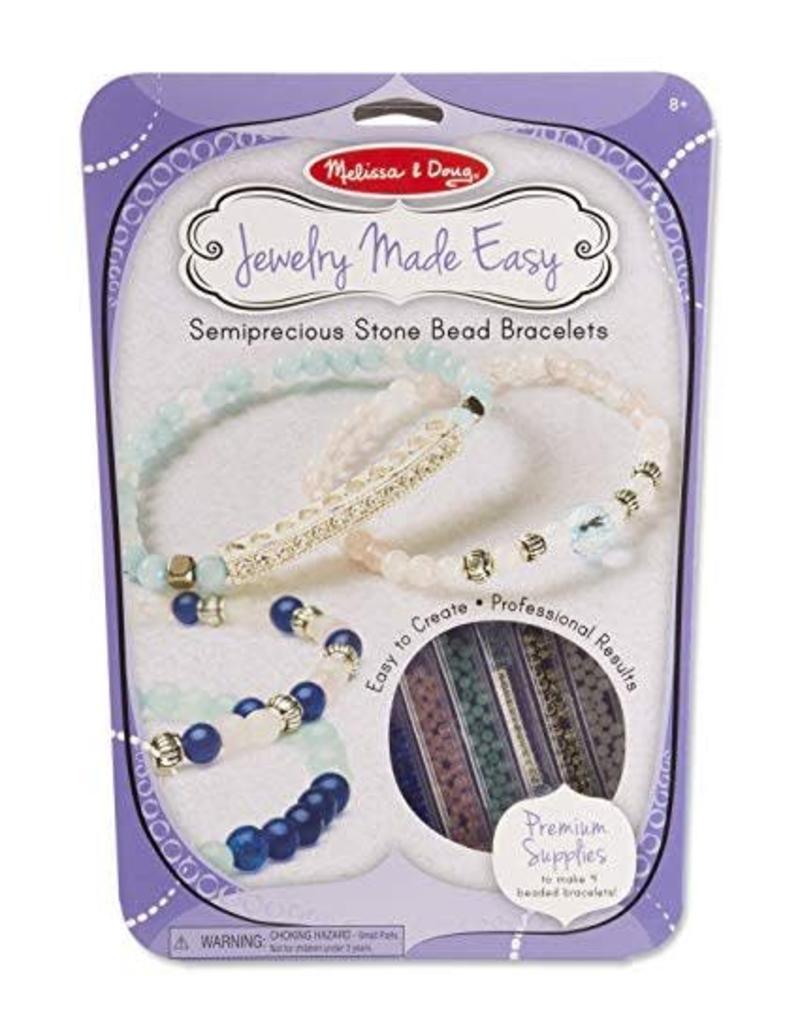 Semiprecious Bead Bracelets