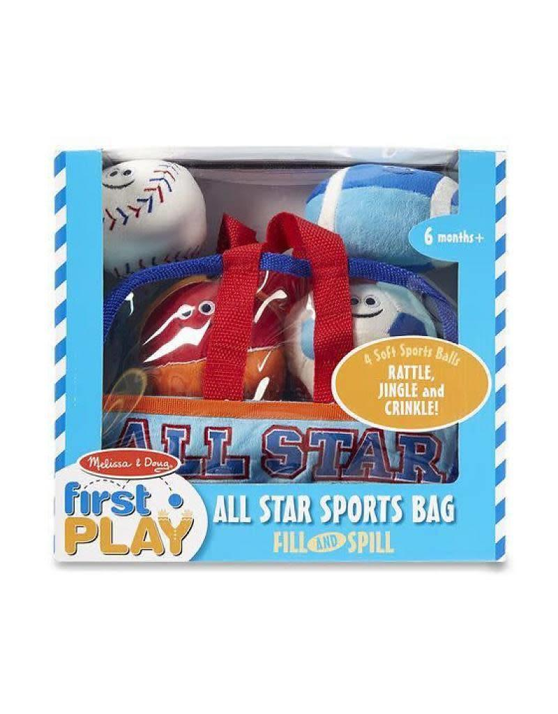 Sports Bag Fill and Spill
