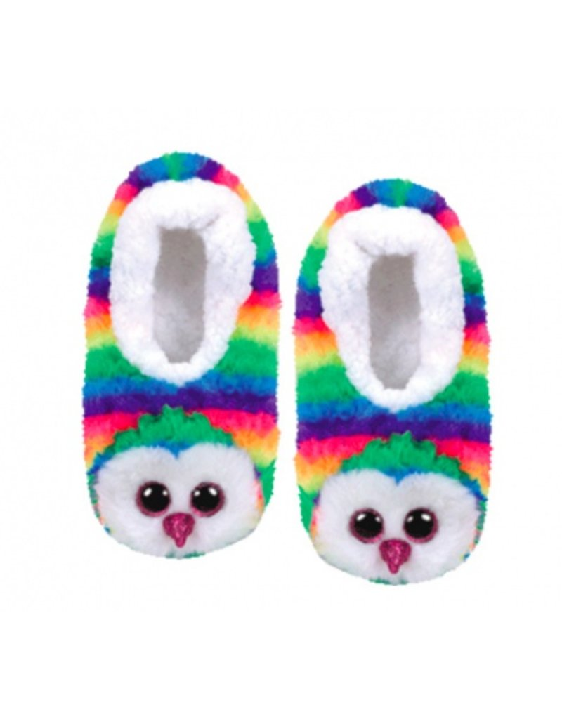 Owl Slippers LRG