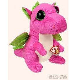 Ty Darla Dragon Boo Pink Medium
