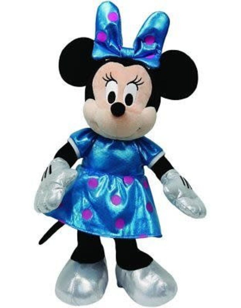 Minnie  Mouse Teal Sparkle Med