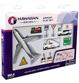 Hawaiian Airlines Playset