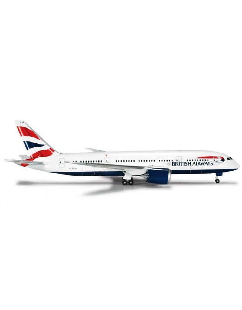 Herpa British Airways 787-800 1/500
