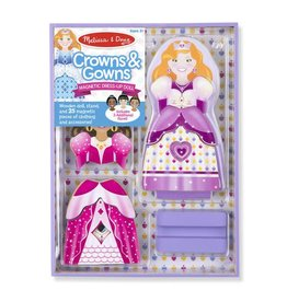 Magnetic Dress-Up - Crowns & Gowns