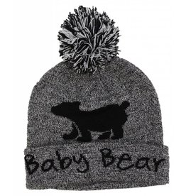 Baby Bear Toque W/ Embroidered Canada Flag