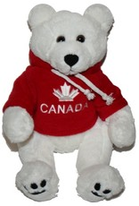 "Polar Bear 12"" w Calgary Hoodie"