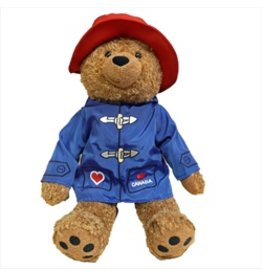 "Paddington Bear 14"" With Blue Jacket"